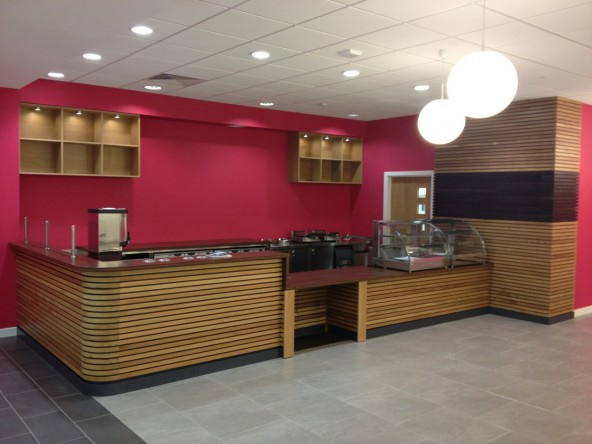 New café bar for students and staff of Coatbridge College