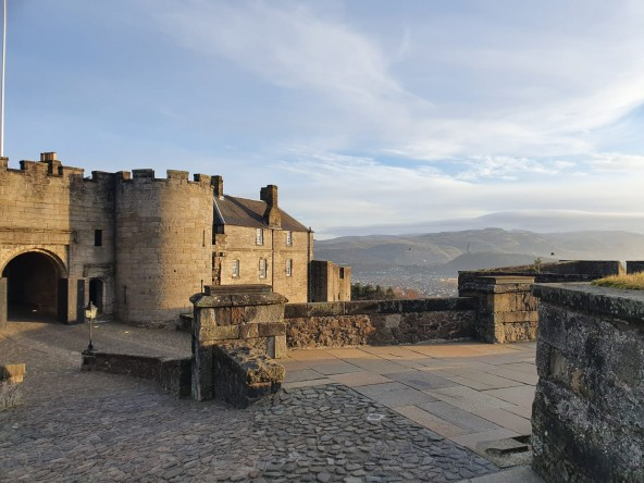 Project Completion at Stirling Castle